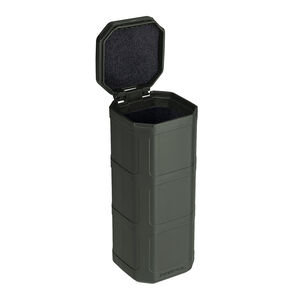 """Magpul DAKA Can 6.4""""x2.5""""x2.7"""" Pocket Sized Storage Container Lined with High Density Foam Rigid Shell OD Green"""