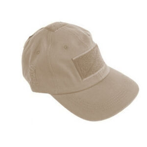 High Speed Gear Baseball Cap 3 Hook and Loop Locations Tan