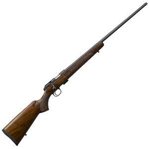 "CZ USA CZ 457 American .17 HMR Bolt Action Rifle 24.8"" Barrel 5 Rounds DBM American Style Turkish Walnut Stock Black Finish"