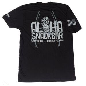 Spike's Tactical Aloha Snackbar Men's Short Sleeve T-Shirt XL Black
