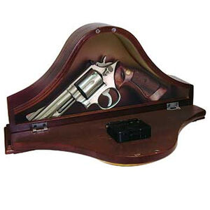 Personal Security Products Concealment Mantle Clock Wood 14 5/8 Inches Wide MGC