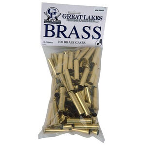 Great Lakes Bullets and Ammunition .45-70 Govt New Unprimed Brass 100 Pack B687757