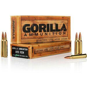 Gorilla .223 Rem 77 Grain SMK BTHP 20 Round Box