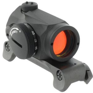 Aimpoint Micro H-1 with Blaser Saddle Mount Red Dot Sight 2 MOA Dot 1x CR2032 Matte Black Waterproof 200090