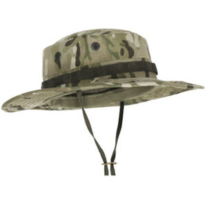 Voodoo Tactical Boonie Hat Cotton Ripstop Size 7.25 Black Multicam 20-6451072073