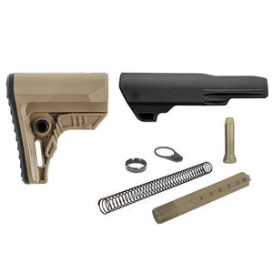 UTG PRO USA Made AR-15 Ops Ready S4 Mil-spec Stock Kit FDE