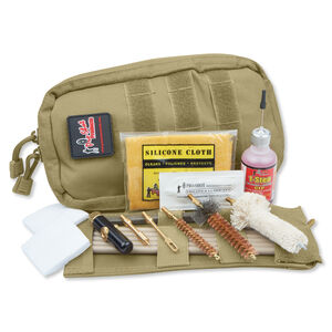 Pro Shot Tactical .30 Caliber Rifle Cleaning Kit Tan COY-30