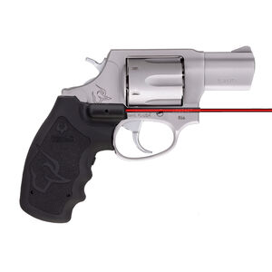 "Taurus 856 .38 Special +P Double Action Revolver 2"" Barrel 6 Rounds Viridian Red Laser Grip Fixed Sights Rubber Grips Matte Stainless Steel Finish"