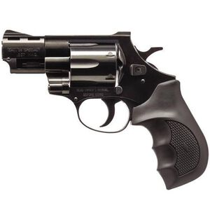 """EAA Corp Windicator Double Action Revolver .357 Magnum 4"""" Barrel 6 Rounds Rubber Grip Blued Finish 770133"""