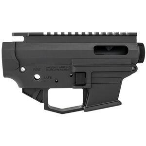 Angstadt Arms 1045 Pistol Caliber AR-15 Upper/Lower Receiver Set 10mm/.45 ACP Billet Aluminum Anodized Black