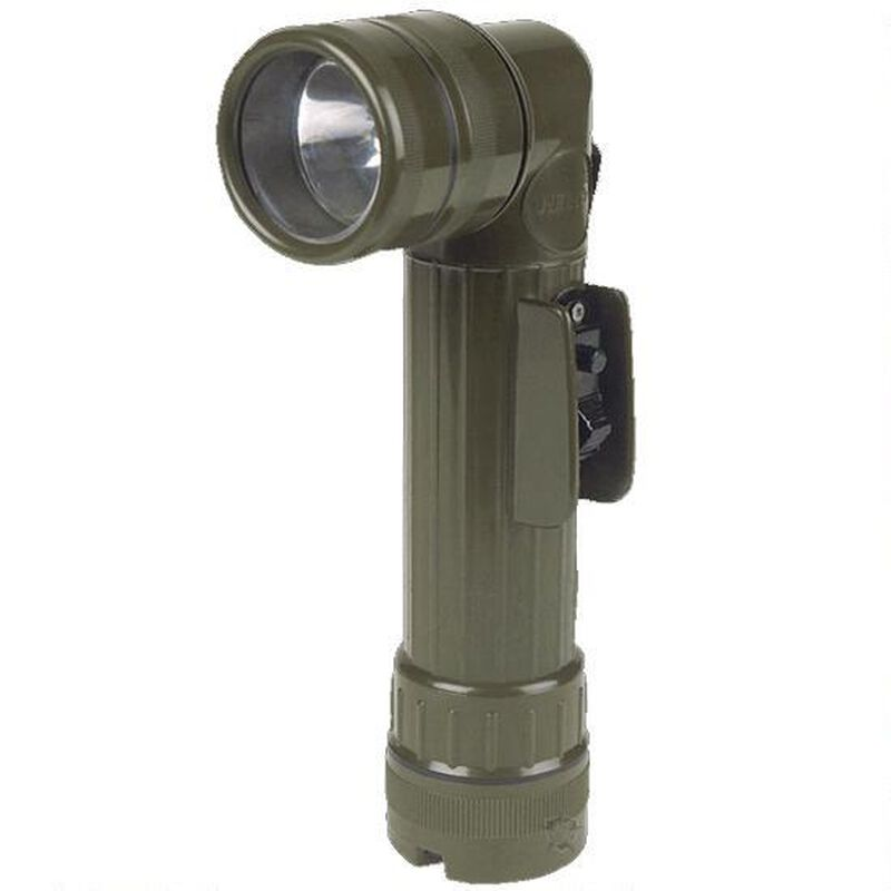 5ive Star Gear GI Spec Angled Head Flashlight D-Cell Polymer Olive Drab 4636000
