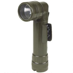 5ive Star Gear GI Spec Angled Head Flashlight D-Cell Polymer Olive Drab 4636000