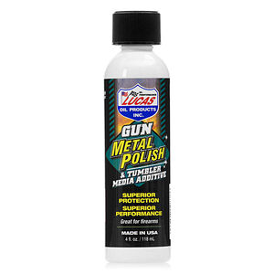 Lucas Oil Gun Metal Polish and Tumbler Media Additive 4oz