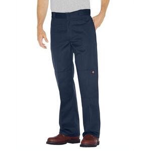 Dickies Men's Loose Fit Double Knee Work Pants 36x32 Dark Navy