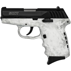 """SCCY CPX-2 9mm Luger Subcompact Semi Auto Pistol 3.1"""" Barrel 10 Rounds No Safety Kryptek Yeti Polymer Frame with Black Slide Finish"""