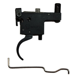 Timney Trigger for Ruger Model 77 with Tang Safety Adjustable Trigger Curved Trigger Shoe Nickel Plated Aluminum Nickel 601-66
