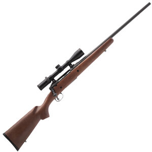 "Savage AXIS II XP 25-06 Rem 22"" Barrel 4 Rounds Hardwood Stock 3-9x40 Scope"