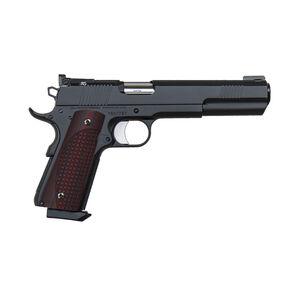 "Dan Wesson 1911 Bruin Semi Auto Pistol .45 ACP 6"" Barrel 8 Rounds Night Sights G-10 Grips Stainless Steel Black Duty Finish"