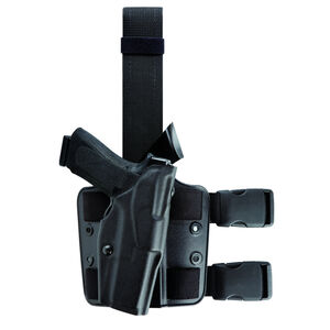 Safariland Model 6354 GLOCK 34 with LasTac2 ALS Tactical Holster Right Hand STX Tactical Black 6354-6832-131