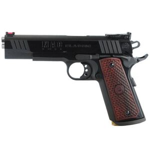 "MAC Classic 1911 Government Semi Automatic Pistol .45 ACP 5""Barrel 8 Round Capacity Hardwood Grips Blued Finish M19CL45B"