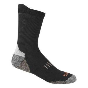 5.11 Tactical Year Round Crew Sock L-XL Black