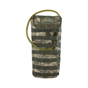 "Red Rock Outdoors MOLLE Hydration Pack with 2.5 Liter Hydration Bladder 8.5""x17""x1.5"" Polyester ACU Camo"