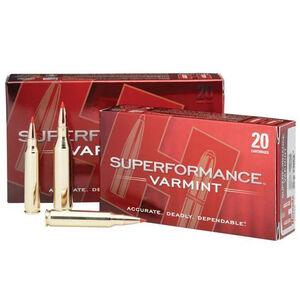 Hornady Superformance Varmint .204 Ruger Ammunition 20 Rounds V-Max 40 Grains 83206