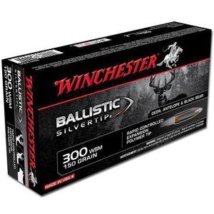 Winchester Supreme .300 WSM 150 Grain Silvertip 20 Rnd Box