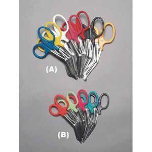 Emergency Medical International EMS Shears 5 1/2 Inch Red 1096