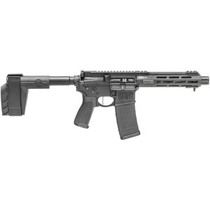 "Springfield Armory SAINT Victor 5.56 AR-15 Semi Auto Pistol 7.5"" Barrel 30 Rounds with a SB Tactical Pistol Brace Black"
