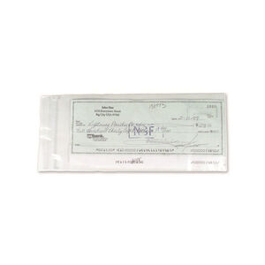 Armor Forensics Check Sleeves 4x9 100 Count Clear