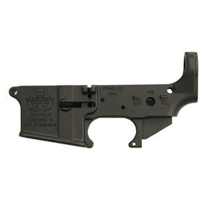 Black Rain Ordnance SPEC15 AR-15 Stripped Lower Receiver Forged Aluminum Anodized Black BRO-SPEC15-LR