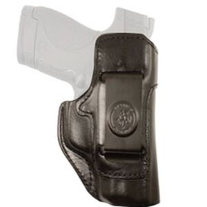 DeSantis Inside Heat IWB Holster S&W M&P Compact 9/40 Right Hand Leather Black 127BAL7Z0