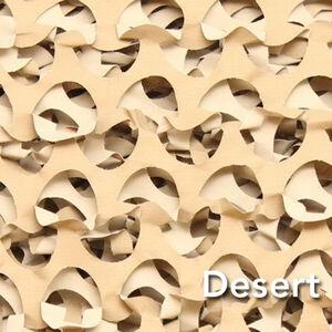 "Camo Unlimited Premium Series Ultra Lite Netting 7'10""x19""8"" 3D Leaf Like Foliage Desert"