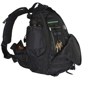 Fox Outdoor Ambidextrous Teardrop Tactical Sling Pack Black 56-631