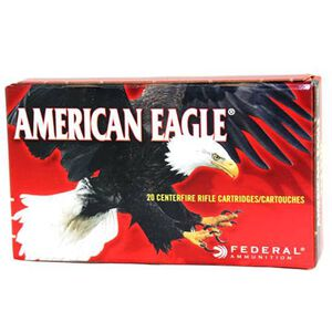 American Eagle .22-250 Rem 50 Grain JHP 20 Round box