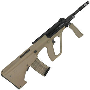 """Steyr AUG A3 M1 Semi Auto Rifle 5.56 NATO 16"""" Chrome Lined CHF Barrel 30 Round AUG Pattern Magazine Extended Picatinny Rail Synthetic Polymer Stock Mud"""