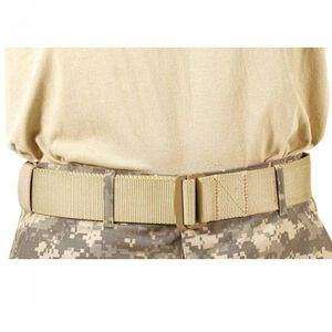 "BLACKHAWK! Universal BDU Belt 1.75"" Width Up to 52"" Metal Friction Buckle Tan 41UB01DE"