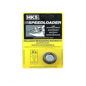 HKS .22LR Six Round Speedloader S&W/Colt//Dan Wesson Polymer Black 22-K