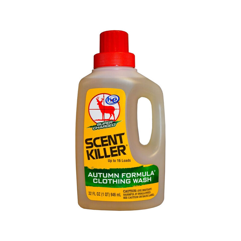Wildlife Research Center Scent Killer Autumn Formula Liquid Clothing Wash 32 oz.