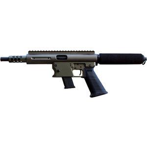 """TNW Aero Survival Semi Auto Pistol 10mm Auto 8"""" Quick Change Barrel 10 Rounds GLOCK Style Mag Aluminum OD Green"""