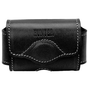 Hunter Company Adjustable Cell Phone Holster Leather Black 27-075-1