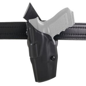 Safariland Model 6390 ALS Mid-Ride Duty Belt Holster Left Hand Fits GLOCK 34/35 with Light Hardshell STX Tactical Black