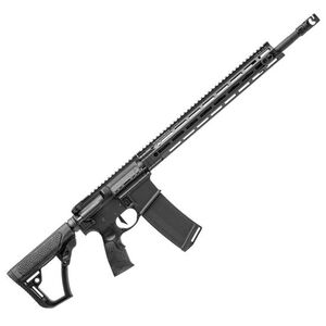 "Daniel Defense DDM4V7 Pro AR-15 Semi Auto Rifle 5.56 NATO 18"" Barrel 30 Rounds M-LOK Collapsible Stock Black"