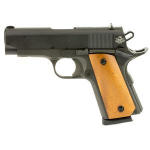"Rock Island 1911 Compact Semi Auto Pistol .45 ACP 3.5"" Barrel 7 Rounds Parkerized Steel Frame Fixed Sights 54183"