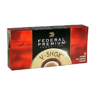 Federal V-Shok .22-250 Remington Ammunition 20 Rounds Speer Lead Free TNT HP 43 Grains P22250D