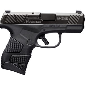"Mossberg MC1sc 9mm Luger Subcompact Semi Auto Pistol 3.4"" Barrel 7 Rounds Night Sights No Manual Safety Polymer Frame Black"
