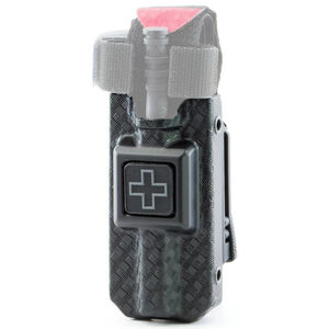 Eleven 10 RIGID TQ Case Fits CAT Gen 7 MOLLE Clip Polymer Basket Weave Black