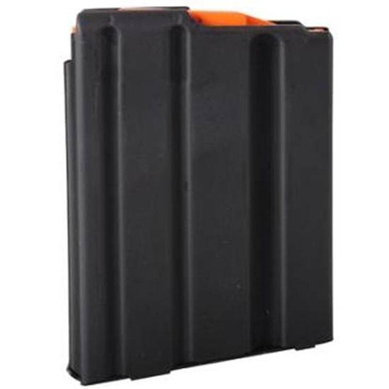 C-Products Defense AR-15 Magazine .223 Rem/5.56 NATO 5 Rounds Stainless Steel Black 0523041188