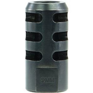 Manticore AR-15 Reverb Muzzle Brake .22 LR to 9mm Luger 1/2x28 TPI Steel Black